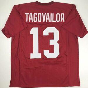 New TUA TAGOVAILOA Alabama Crimson College Custom Stitched Football Jersey XL