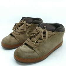Vintage DVS Skate Shoes Mason Mens 8.5 Chunky Puffy 90s Suede Tan Skateboarding