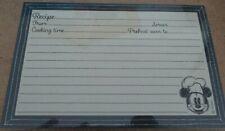 "Hallmark / Disney - ""Mickey Mouse"" 36 Recipe Cards - Nip"