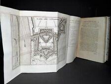 VAUBAN Attaque et Défense des Places EDITION ORIGINALE Complet 36 PLANCHES 1737