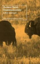 Animal Vocal Communication: A New Approach-ExLibrary