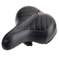 Comfort Wide Big Bum Bike Bicycle Gel Cruiser Extra Sporty Soft Pad Saddle Seat