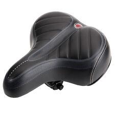 Comfort Wide Big Bum Bike Bicycle Gel Cruiser Extra Sporty Soft Pad Saddle
