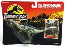 Antiguo ☆ Dilophosaurus Jurassic Park Figura ☆ Moc cardada Sellado mundo Kenner