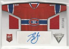 2013-14 Titanium Home Sweaters Memorabilia Autographs Brendan Gallagher 87/100