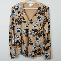 [ WITCHERY ] Womens Floral Print Blouse Top  | Size XXS or AU 6 or US 2