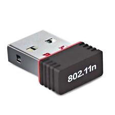 150Mbps WiFi Dongle Adapter Wireless Network Lan Card Mini USB Windows Pc Laptop