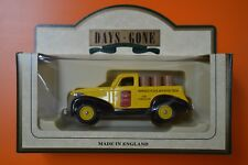 Lledo No 36007 - Diecast Model Of A 1938 Yellow & Black Chevy Pick Up - PENNZOIL
