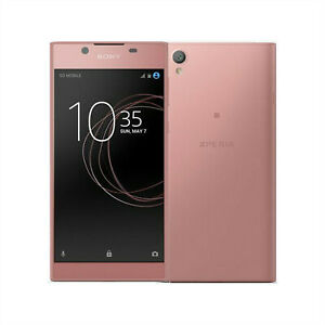 Unlocked Sony Xperia L1 G3312 Mobile Cellular Smart Android Phone Pink 16GB