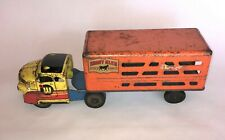 ANTIQUE TOY CATTLE TRUCK Wyandotte Structo Tonka Marx Lumar Metalcraft Buddy L