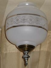 3 Inch fitter Glass Pendant Swag Hanging Lamp Shade 3 1/8 inch
