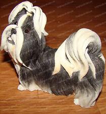 Shih Tzu (Dog) Black/White (Country Artist by Enesco, Ca02238)