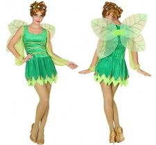 Costume GREEN Woman Tinker Bell XL 44 Suit Adult Drawing Cartoon NEW