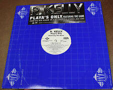 "R. Kelly PLAYA'S ONLY FEAT. THE GAME 12"" RAP SINGLE 2X DJ COPY JIVE ZOOMBA 2005"
