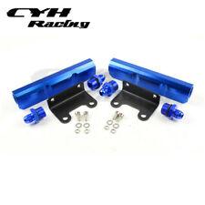Aluminum Fuel Rail Kits For Subaru Impreza WRX GDA GDB -Blue