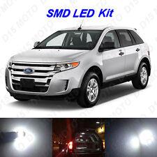 10 X White Led Interior Bulbs License Plate Lights For 2011 2014 Ford Edge