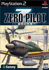 Used PS2 Zero Pilot: Kokuu no Kiseki Japan Import (Free Shipping)