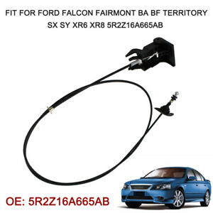 Hood Release Cable Fit for Ford Falcon Fairmont BA BF Territory SX XR6 XR8