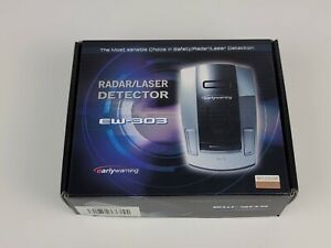 New Open Box Laser/Radar Detector Early Warning EW-303 Color Gold 854311001269