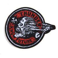 Thunder Screaming Skull Patch Toppa Oldschool Longboard