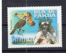 CHILE 2002 Easter Island Ile de Paques Isla de Pascua Moai MNH