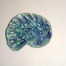 Original Handmade Jessica'S Tileworks Bahamas Shell Shaped Tray