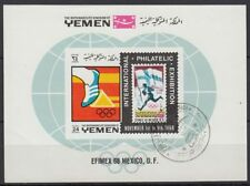 Block73b Postfrisch 1968 Olymp Me Jemen königreich Sommerspiele kompl.ausg.