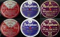 5 Original 78er Schellackplatten JAZZ/SWING - Benny Goodman Nat Gonella...