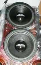 "PAIR (2) Radio Shack 40-1349 10"" DVC Subwoofer Woofer Speaker 4/8 ohms"