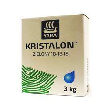 Kristalon YARA 18-18-18 3 kg green/grün/zielony fertilizer, Dünger
