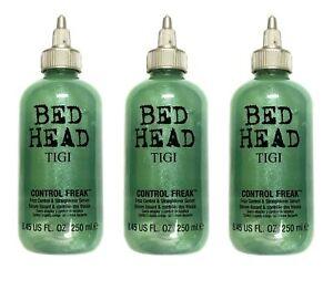 Tigi Bed Head Control Freak Frizz Control Serum 8.45 Oz Pack of Three