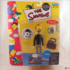 Simpsons Lenny series 4 interactive playmates figure - worn packaging
