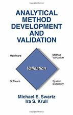 Analytical Method Development and Validation By Michael Swartz et al.