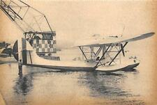 Z732) WW2 AVIAZIONE, IDROVOLANTE CANT Z 501 ALL'ORMEGGIO.