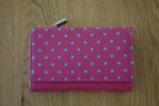 Golunski Very Soft Pink With Turquoise Spots Leather Purse