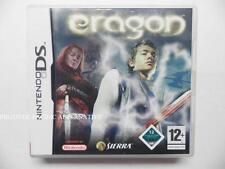 jeu ERAGON sur nintendo DS en francais game juego spiel juego gioco complet TBE