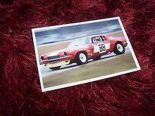 Photo  / Photograph  CHEVROLET Camaro Maurice Carter  Daytona 250 1972 //
