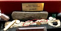 ENCRUSTED SWORD CA.1800's DUTCH EAST INDIES PIRATE GOLD COINS SHIPWRECK TREASURE