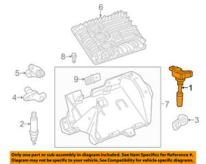 GM OEM-Ignition Coil 12632479