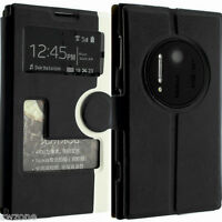 FOR NOKIA LUMIA 1020 LEATHER FIT CASE COVER WALLET POUCH FLIP SLIM SKIN N1020