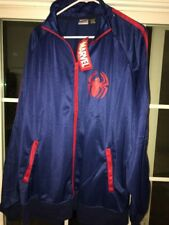 Marvel Spiderman Logo Track Jacket, Men's Size Xl With Tag Attached