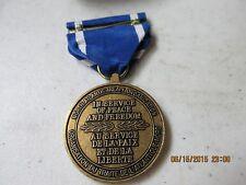 """NATO  """"In Service of Peace & Freedom"""" Medal & Ribbon    L@@K   Nice!"""