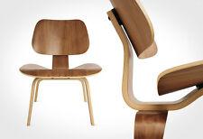 EBB Molded LCW Walnut PlyWood Lounge Dinning Chair