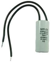 1 condensateur à fils Miflex KSPpzp-5 KSPpz-5 FM X2 250V 250VAC 0.1µF 100nF