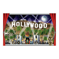 Insta-view HOLLYWOOD finestra Prop - 157cm-Colline Hollywood Decorazione Murale