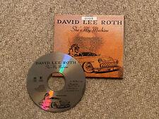 David Lee Roth - She's My Machine - Numbered Ltd CD Single 1994 Reprise WO229CDX