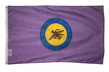 Great Seal Choctaw Nation Purple Large Flag Banner 3x5FT Tribe Native American