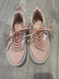 Pink Vans Ultracush Lite Trainers - Size 6
