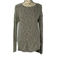 Banana Republic Sweater Women's Gray & White Knit Size X-Small