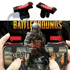 1 Pair BLK Mobile Phone Gaming Trigger Fire Button Smartphone Shooter Controller